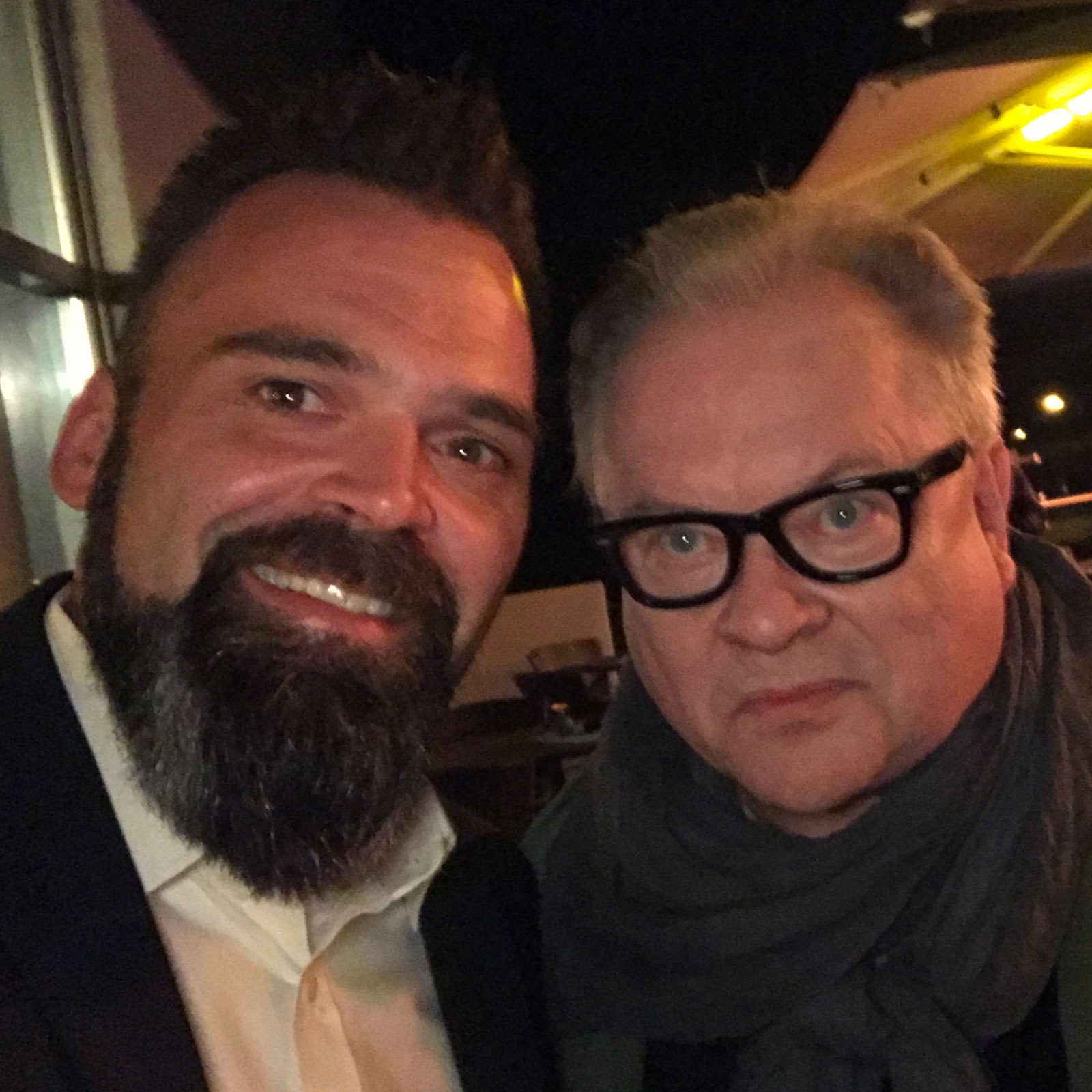 DJ Lollo mit Heinz Rudolf Kunze
