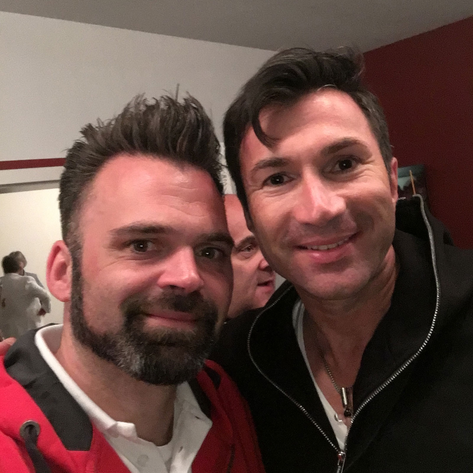 DJ Lollo mit Lucas Cordalis