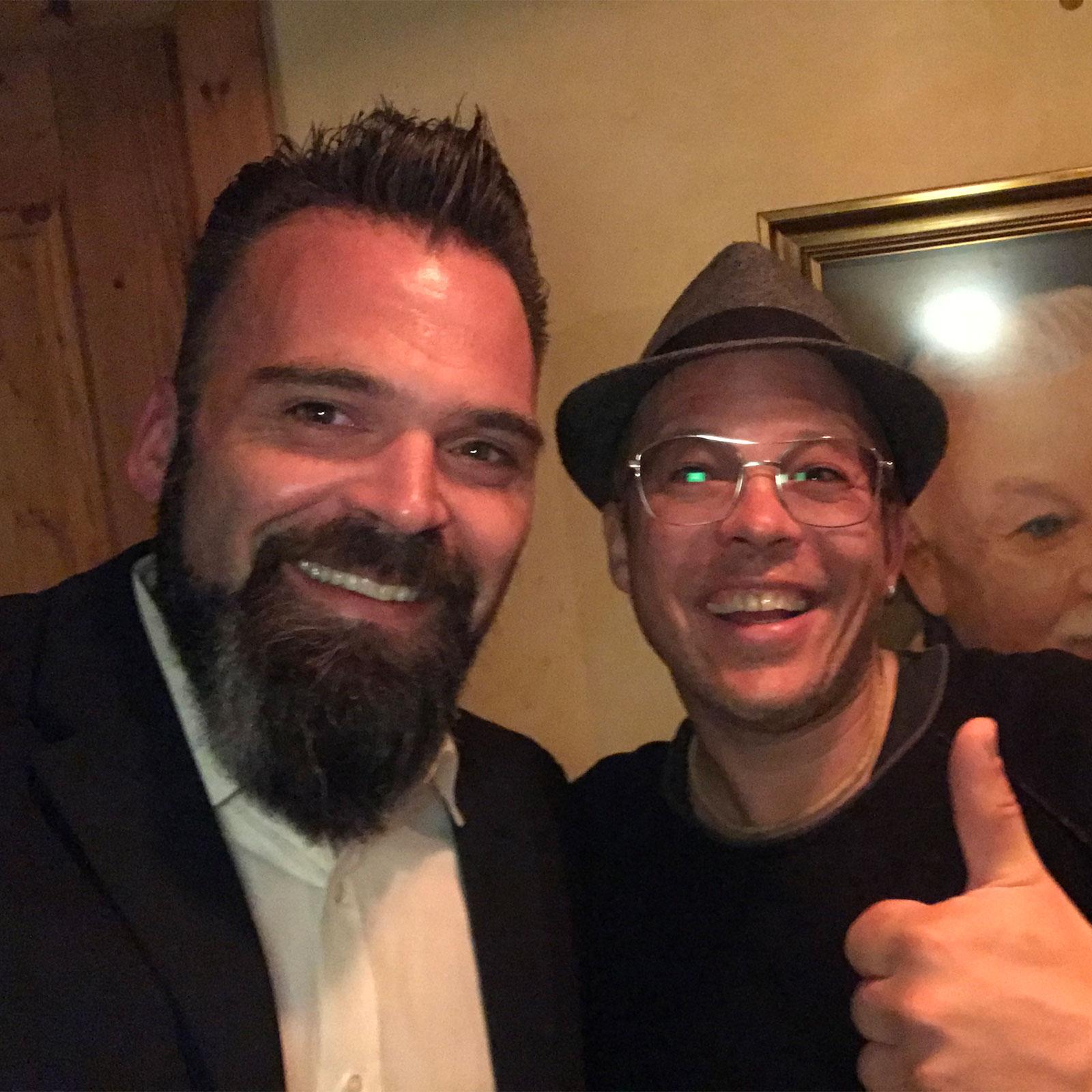 DJ Lollo mit Mario Kotaska