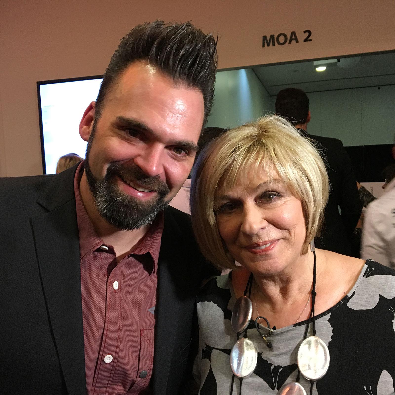 DJ Lollo mit Mary Roos