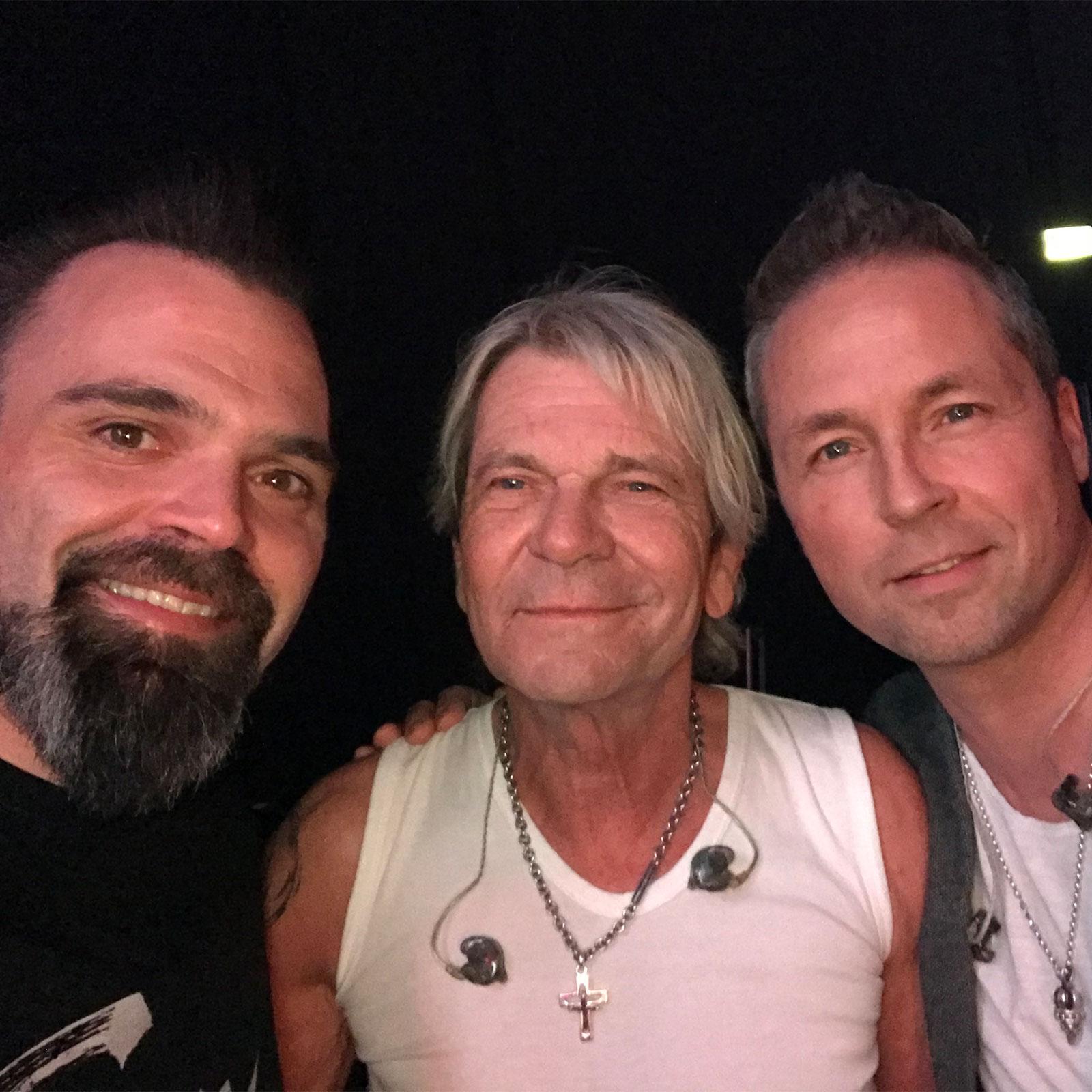 DJ Lollo mit Matthias Reim und Mitch Keller