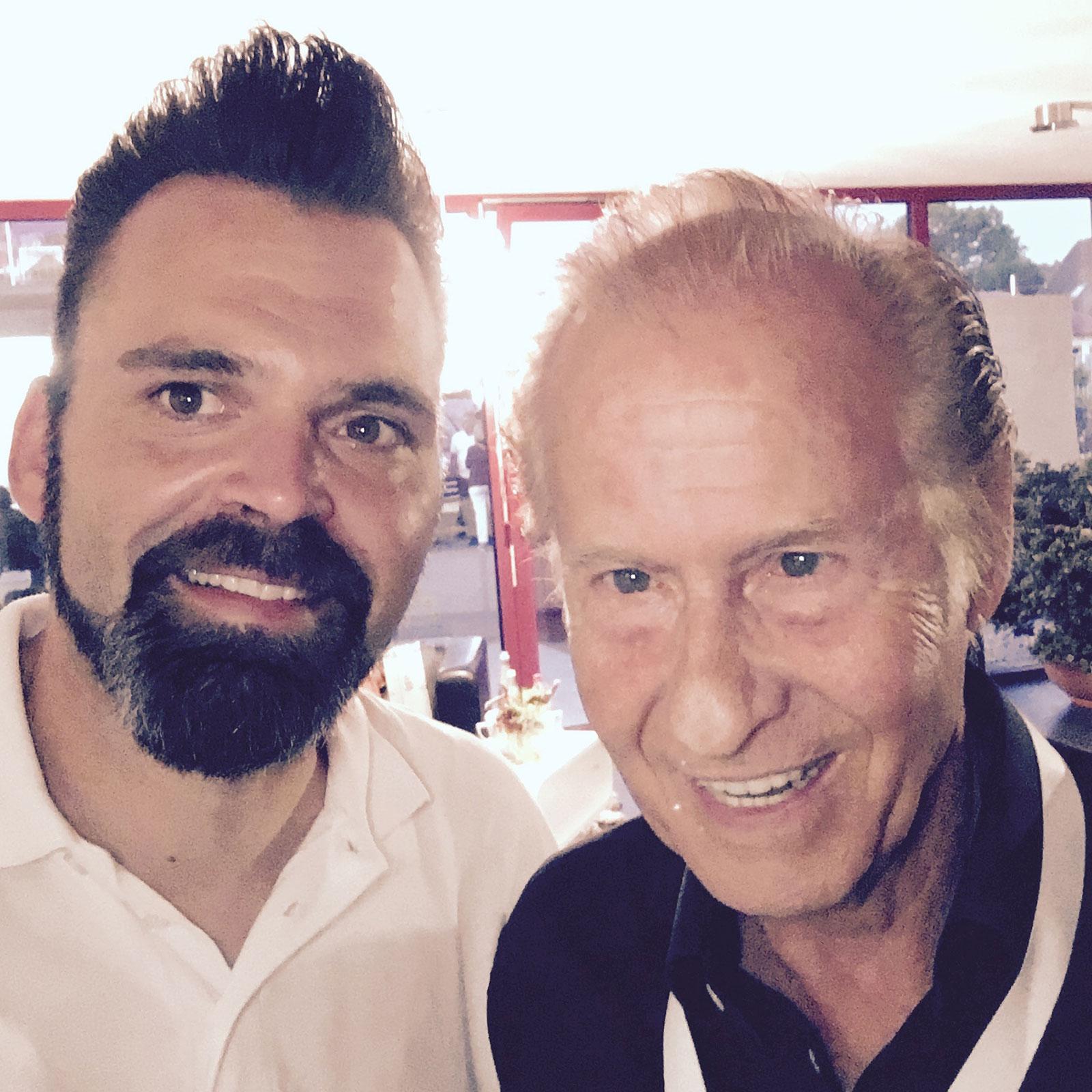 DJ Lollo mit Michael Holm