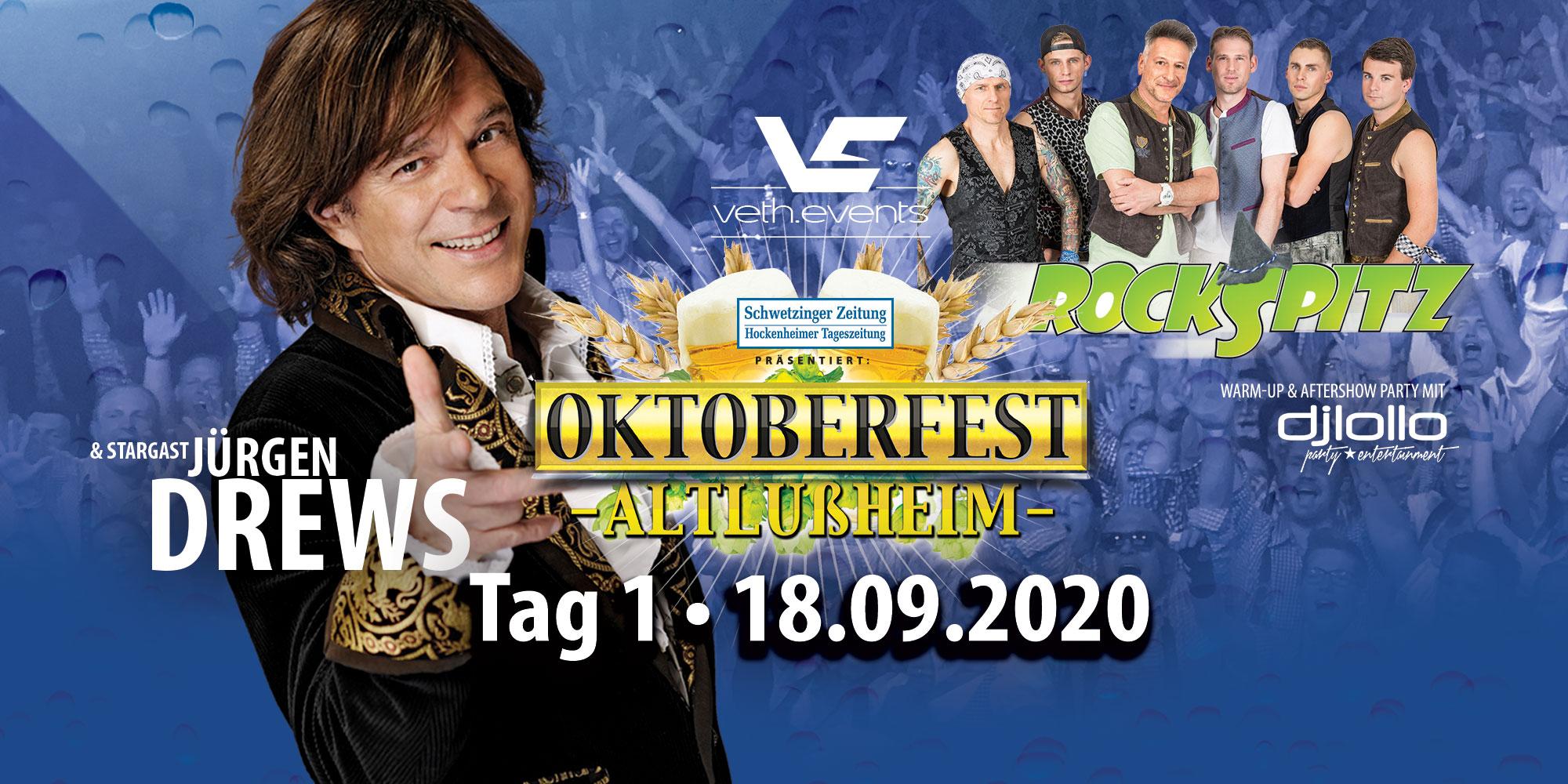 Oktoberfest Altlußheim 2020 Tag 1