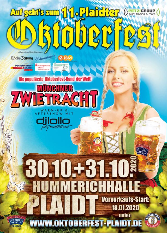 Plaidter Oktoberfest 2020