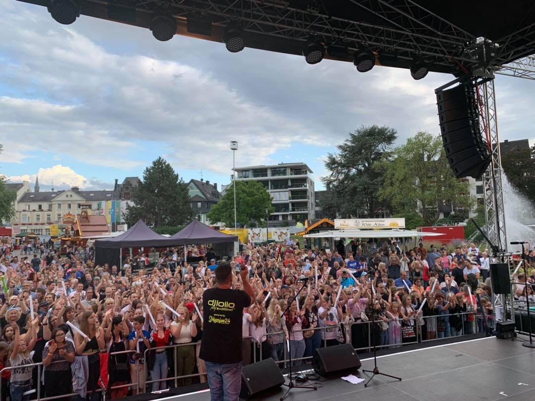 Fest der 1000 Lichter Andernach Warm Up DJ