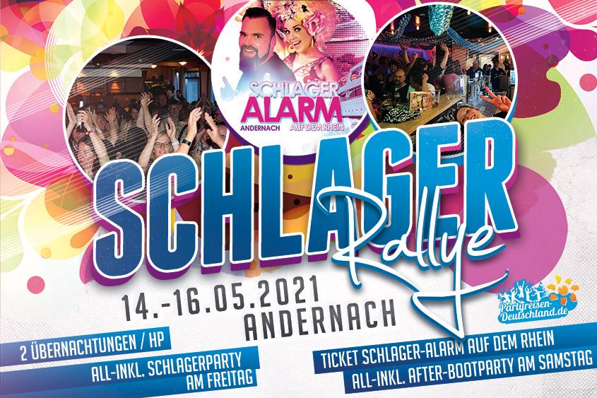 Schlager Rallye 2021 Andernach